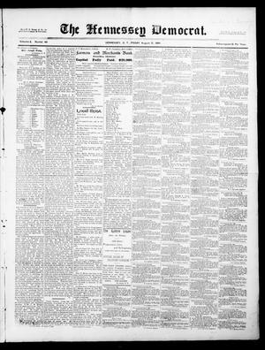 The Hennessey Democrat. (Hennessey, Okla. Terr.), Vol. 2, No. 49, Ed. 1 Friday, August 31, 1894