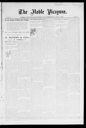 The Noble Picayune. (Noble, Okla. Terr.), Vol. 1, No. 17, Ed. 1 Wednesday, May 8, 1895