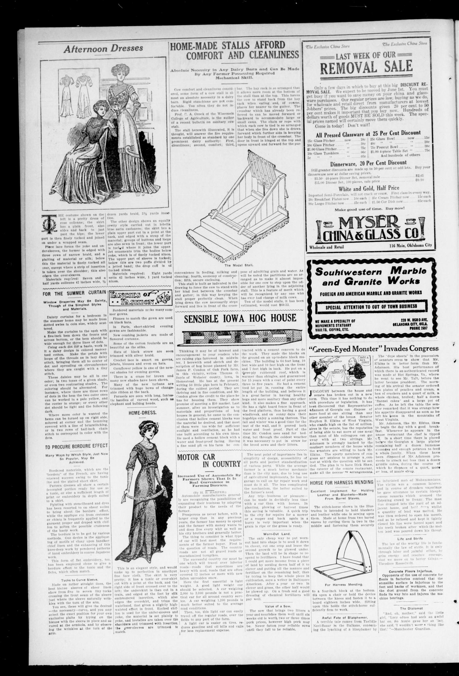 The Moore Messenger. (Moore, Okla.), Vol. 3, No. 3, Ed. 1 Saturday, May 21, 1910                                                                                                      [Sequence #]: 2 of 8