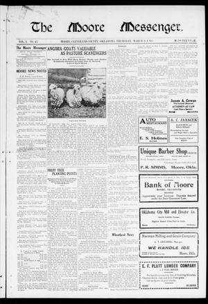 The Moore Messenger. (Moore, Okla.), Vol. 3, No. 45, Ed. 1 Thursday, March 9, 1911