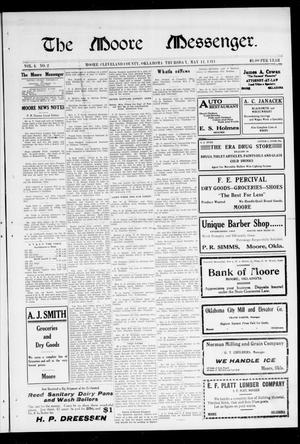 The Moore Messenger. (Moore, Okla.), Vol. 4, No. 2, Ed. 1 Thursday, May 11, 1911