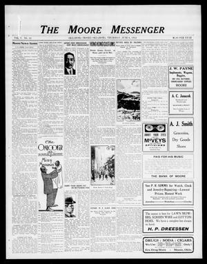 Primary view of object titled 'The Moore Messenger (Moore, Okla.), Vol. 5, No. 12, Ed. 1 Thursday, June 6, 1912'.