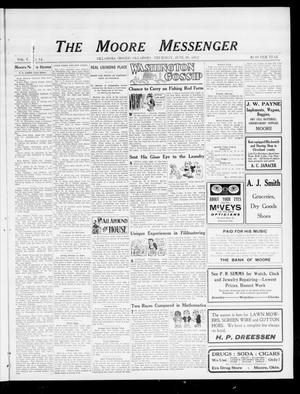 Primary view of object titled 'The Moore Messenger (Moore, Okla.), Vol. 5, No. 14, Ed. 1 Thursday, June 20, 1912'.