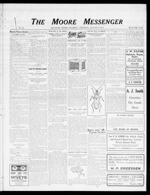 Primary view of object titled 'The Moore Messenger (Moore, Okla.), Vol. 5, No. 21, Ed. 1 Thursday, August 8, 1912'.