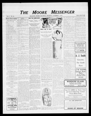 The Moore Messenger (Moore, Okla.), Vol. 5, No. 34, Ed. 1 Thursday, November 7, 1912