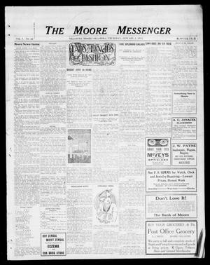 Primary view of object titled 'The Moore Messenger (Moore, Okla.), Vol. 5, No. 42, Ed. 1 Thursday, January 2, 1913'.