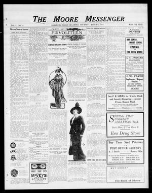 The Moore Messenger (Moore, Okla.), Vol. 5, No. 51, Ed. 1 Thursday, March 6, 1913