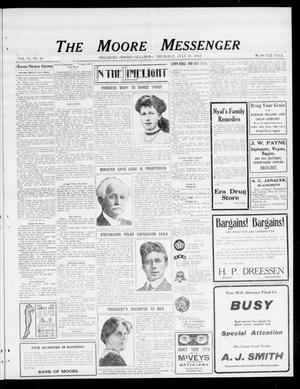 The Moore Messenger (Moore, Okla.), Vol. 6, No. 20, Ed. 1 Thursday, July 31, 1913