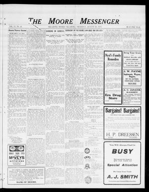 The Moore Messenger (Moore, Okla.), Vol. 6, No. 24, Ed. 1 Thursday, August 28, 1913