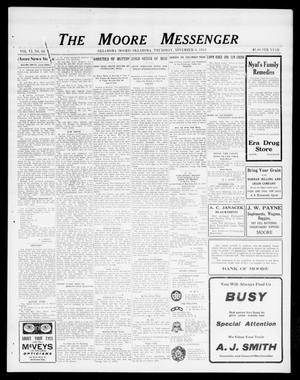 Primary view of object titled 'The Moore Messenger (Moore, Okla.), Vol. 6, No. 34, Ed. 1 Thursday, November 6, 1913'.