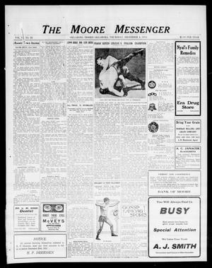 Primary view of object titled 'The Moore Messenger (Moore, Okla.), Vol. 6, No. 38, Ed. 1 Thursday, December 4, 1913'.