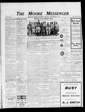 Primary view of object titled 'The Moore Messenger (Moore, Okla.), Vol. 6, No. 40, Ed. 1 Thursday, December 18, 1913'.