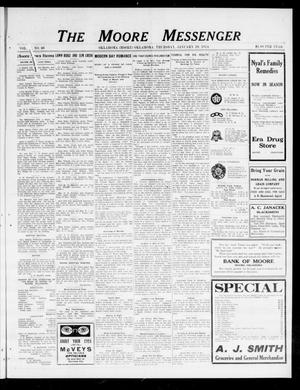 The Moore Messenger (Moore, Okla.), Vol. 6, No. 46, Ed. 1 Thursday, January 29, 1914