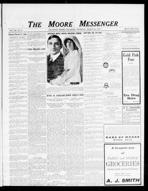 Primary view of object titled 'The Moore Messenger (Moore, Okla.), Vol. 7, No. 2, Ed. 1 Thursday, March 26, 1914'.