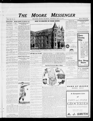 Primary view of object titled 'The Moore Messenger (Moore, Okla.), Vol. 7, No. 11, Ed. 1 Thursday, May 28, 1914'.