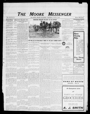 Primary view of object titled 'The Moore Messenger (Moore, Okla.), Vol. 7, No. 12, Ed. 1 Thursday, June 4, 1914'.