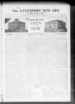 Primary view of object titled 'The Davenport New Era (Davenport, Okla.), Vol. 8, No. 15, Ed. 1 Thursday, May 18, 1916'.