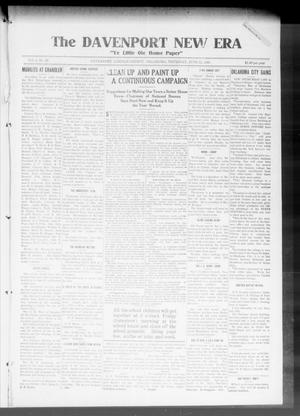 Primary view of object titled 'The Davenport New Era (Davenport, Okla.), Vol. 8, No. 20, Ed. 1 Thursday, June 22, 1916'.