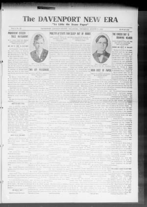 The Davenport New Era (Davenport, Okla.), Vol. 8, No. 26, Ed. 1 Thursday, August 10, 1916