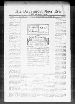 The Davenport New Era (Davenport, Okla.), Vol. 8, No. 46, Ed. 1 Thursday, December 28, 1916