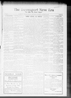 The Davenport New Era (Davenport, Okla.), Vol. 8, No. 49, Ed. 1 Thursday, January 18, 1917