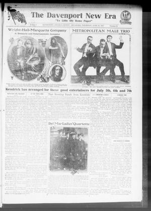 The Davenport New Era (Davenport, Okla.), Vol. 9, No. 20, Ed. 1 Thursday, June 28, 1917