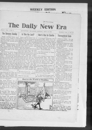 Primary view of object titled 'The Daily New Era (Davenport, Okla.), Vol. 1, No. 8, Ed. 1 Monday, September 10, 1917'.
