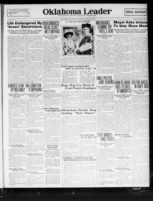 Oklahoma Leader (Oklahoma City, Okla.), Vol. 2, No. 3, Ed. 1 Thursday, August 18, 1921