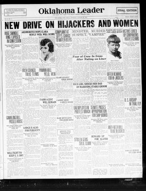 Oklahoma Leader (Oklahoma City, Okla.), Vol. 2, No. 7, Ed. 1 Tuesday, August 23, 1921