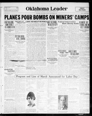 Oklahoma Leader (Oklahoma City, Okla.), Vol. 2, No. 16, Ed. 1 Friday, September 2, 1921