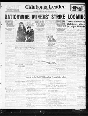 Oklahoma Leader (Oklahoma City, Okla.), Vol. 2, No. 68, Ed. 1 Wednesday, November 2, 1921