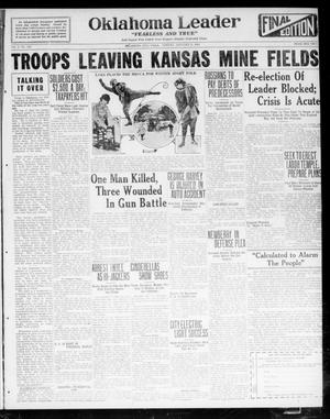 Oklahoma Leader (Oklahoma City, Okla.), Vol. 2, No. 126, Ed. 1 Monday, January 9, 1922