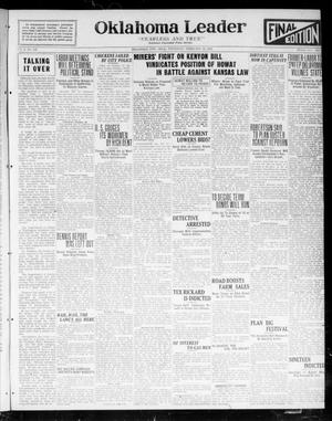Oklahoma Leader (Oklahoma City, Okla.), Vol. 2, No. 159, Ed. 1 Thursday, February 16, 1922