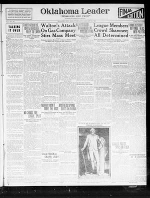 Oklahoma Leader (Oklahoma City, Okla.), Vol. 2, No. 164, Ed. 1 Wednesday, February 22, 1922