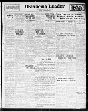 Oklahoma Leader (Oklahoma City, Okla.), Vol. 2, No. 169, Ed. 1 Tuesday, February 28, 1922