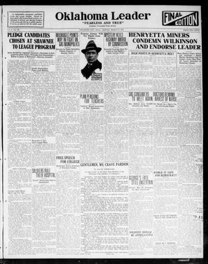 Oklahoma Leader (Oklahoma City, Okla.), Vol. 2, No. 174, Ed. 1 Monday, March 6, 1922