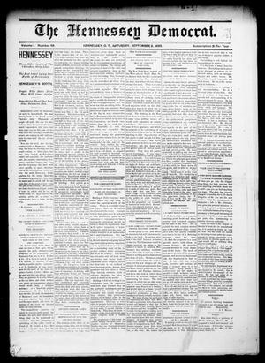 The Hennessey Democrat. (Hennessey, Okla. Terr.), Vol. 1, No. 49, Ed. 1 Saturday, September 2, 1893