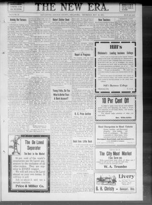 The New Era. (Davenport, Okla.), Vol. 3, No. 18, Ed. 1 Thursday, May 25, 1911