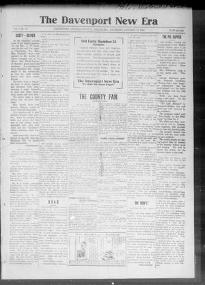 The Davenport New Era (Davenport, Okla.), Vol. 6, No. 49, Ed. 1 Thursday, January 14, 1915