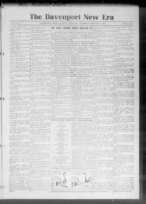 The Davenport New Era (Davenport, Okla.), Vol. 7, No. 2, Ed. 1 Thursday, February 18, 1915