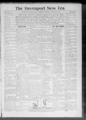 The Davenport New Era (Davenport, Okla.), Vol. 7, No. 3, Ed. 1 Thursday, February 25, 1915