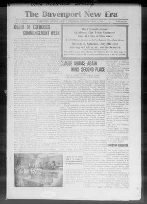 The Davenport New Era (Davenport, Okla.), Vol. 7, No. 13, Ed. 1 Thursday, May 6, 1915