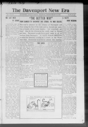 The Davenport New Era (Davenport, Okla.), Vol. 7, No. 15, Ed. 1 Thursday, May 20, 1915