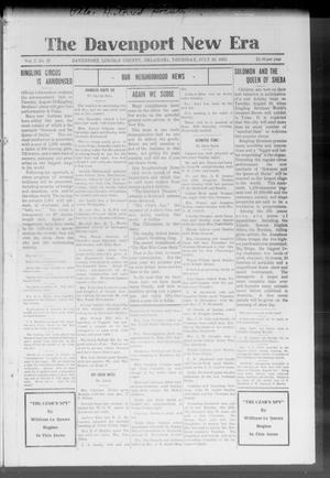 The Davenport New Era (Davenport, Okla.), Vol. 7, No. 25, Ed. 1 Thursday, July 29, 1915