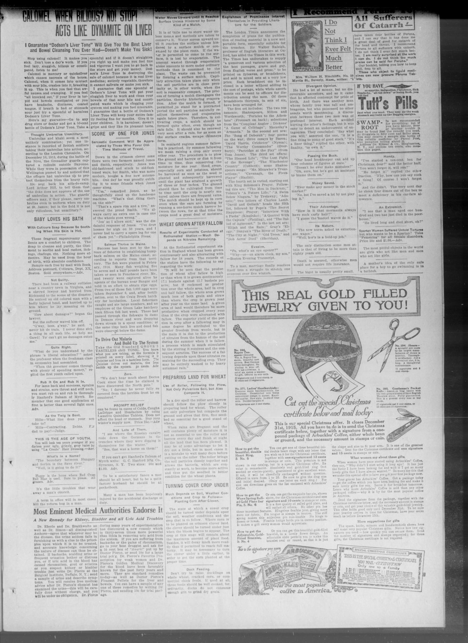 The New Era. (Davenport, Okla.), Vol. 7, No. 40, Ed. 2 Thursday, November 11, 1915                                                                                                      [Sequence #]: 3 of 4