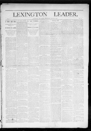 Primary view of object titled 'Lexington Leader. (Lexington, Okla. Terr.), Vol. 1, No. 48, Ed. 1 Saturday, March 5, 1892'.