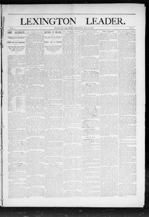 Lexington Leader. (Lexington, Okla. Terr.), Vol. 2, No. 6, Ed. 1 Saturday, May 14, 1892