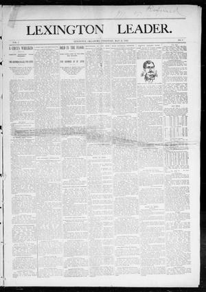 Lexington Leader. (Lexington, Okla. Terr.), Vol. 2, No. 7, Ed. 1 Saturday, May 21, 1892