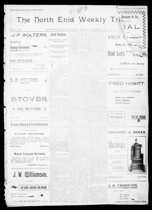 The North Enid Weekly Tribune. (North Enid, Okla.), Vol. 1, No. 3, Ed. 1 Thursday, November 2, 1893