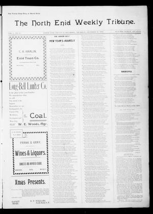Primary view of object titled 'The North Enid Weekly Tribune. (North Enid, Okla.), Vol. 1, No. 11, Ed. 1 Thursday, December 28, 1893'.